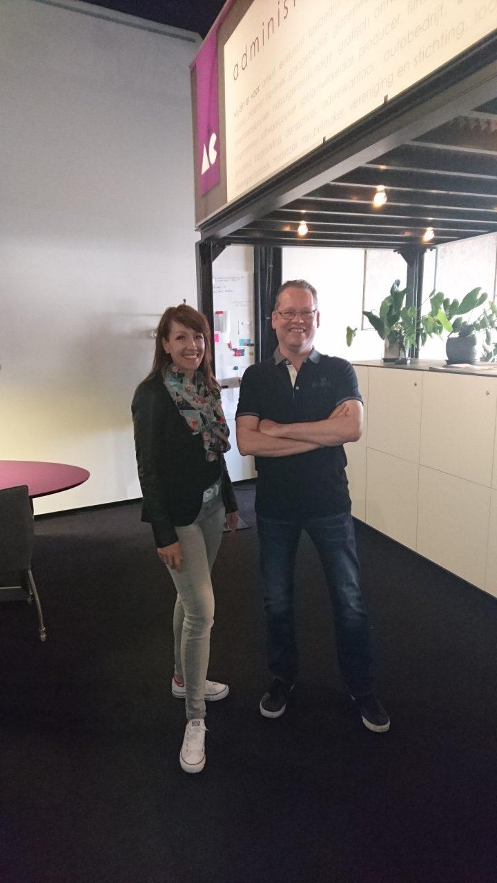 Nieuwe medewerkers Tigo en Nathalie